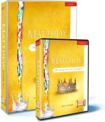 MATTHEW: THE KING AND HIS KINGDOM:STARTER PACK INCLUDES:12 DVD SET, STUDY SET(BINDER AND QUESTIONS & RESPONSES by ASCENSION PRESS