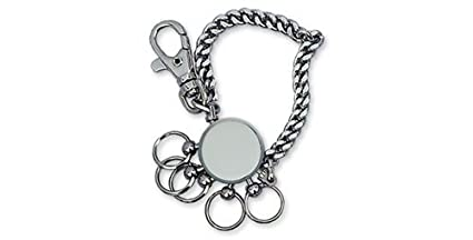 Dakota – Cadena Llavero con 5 Anillos, Metal – Metal – 20821dk