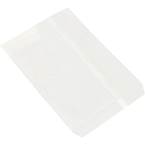 Flat Merchandise Bags, 8 1/2'' x 11'', White, 2000/Case by Choice Shipping Supplies (Image #1)