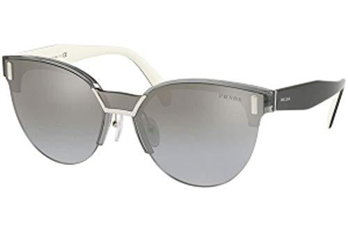 (Sunglasses Prada PR 4 US 2831A0 TRANSPARENT GREY)