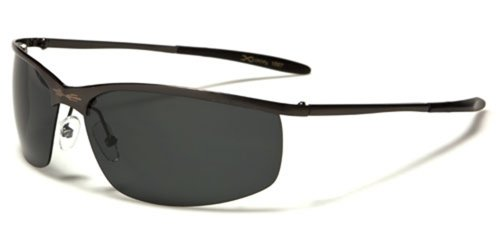 Xloop Black Metal Boating Polarized Driving Sunglasses (Gunmetal (Gray Lens)) (Sunglasses Vanquish)