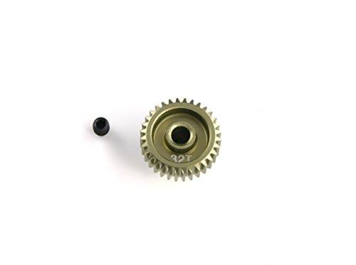 HobbyStar 64P Pinion Gear, 32T, Hard-Anodized Aluminum ()