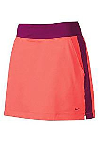 (Nike Women's No Sew Dri-Fit Golf Skort Skirt w/Built-in Compression Shorts X-SMALL)