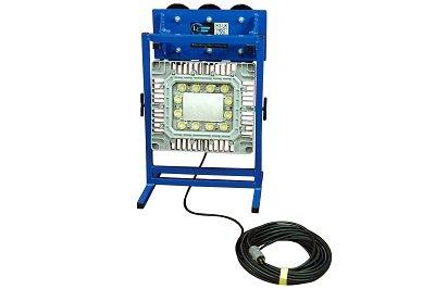 150 Watt Magnetic Mount LED Work Area Light - Aluminum Base - Temporary Job Site Lighting(-120-277V by Larson Electronics