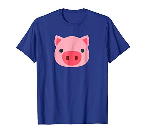 Pig Emoji Cute Porky Head Design T Little Pink Pig T Shirt