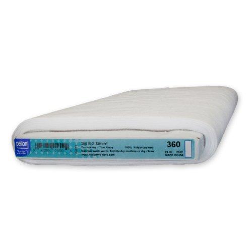 (Pellon EZ Stitch-Sew-in Perforated Lightweight stabilizer, White)