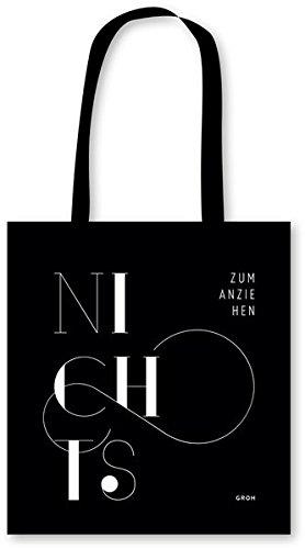 Stofftasche NICHTS zum Anziehen (GROH Design)