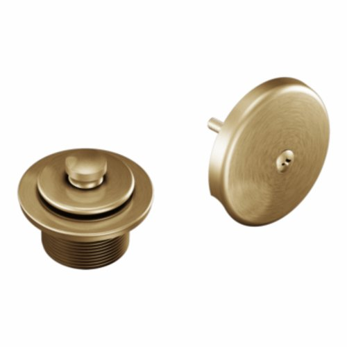- Moen T90331BB Tub Drain Kit with Push-N-Lock Drain Assembly, Brushed Bronze