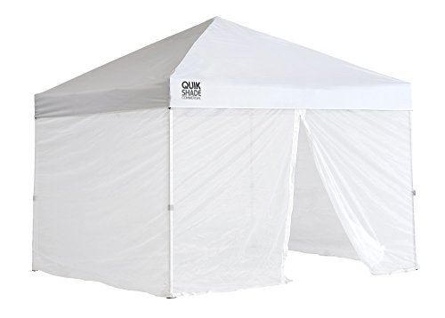 Weekender Canopy - Quik Shade 10'x10' Instant Canopy Screen Panel with Zipper Entry – Canopy Frame and Cover SOLD SEPARATELY