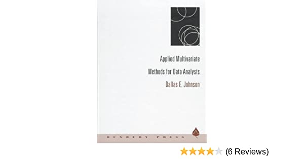 Applied multivariate statistical analysis pdf download.