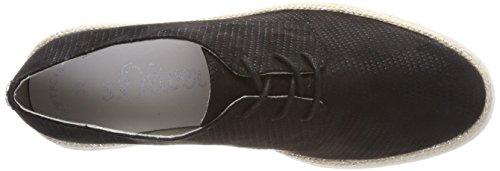 black S 23659 oliver Cordones Para De Oxford Zapatos Mujer Negro UwzfUp