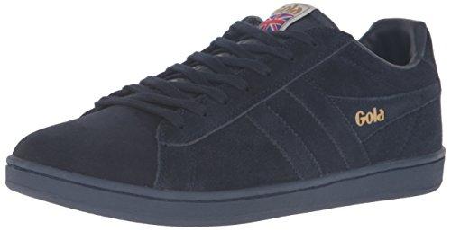 Gola Men's Equipe Suede Fashion Sneaker, Navy/Navy, 6 UK/7 M US