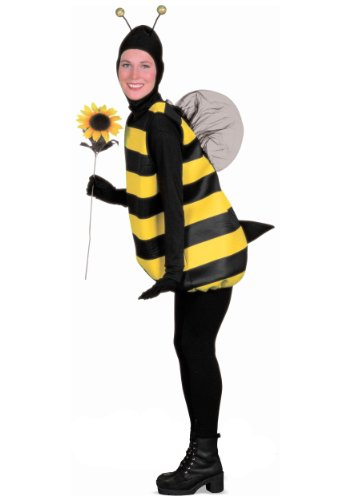 Teacher Friendly Halloween Costumes (Forum Novelties Women's Plus-Size Bumble Bee Plus Size Costume, Black/Yellow,)