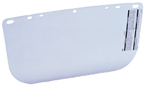 MSA Safety Works 10039423 Replacement Visor for Adjustable Faceshield