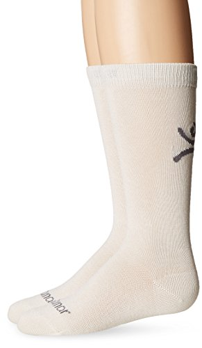 Terramar Kids' Thermasilk Ultra-Thin Performance Over-Calf Liner Sock (Pack of 1), Natural, X-Large (5-6)