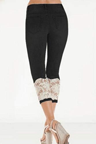De Les Legging Femmes Skinny Pantalons Culture Black Jeans Digne z7YBFq7p