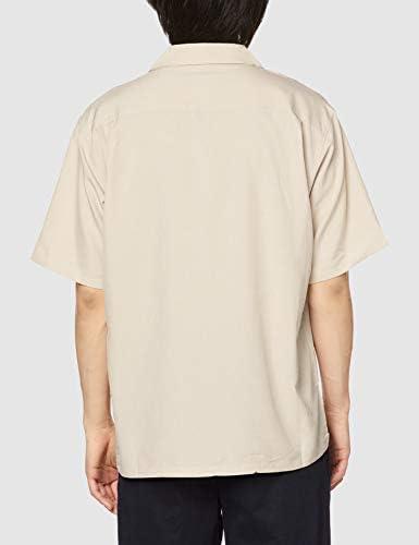 オープンカラーシャツ SUGGESTION メンズ 半袖 ポリトロオープンカラーシャツ 595011