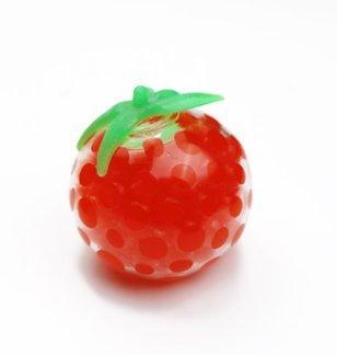 Stress Relief Serrant Souple en Caoutchouc Tomate Poignet Jouet Dr/ôle Geek Gadget Vent Jouet Squishy Tomate