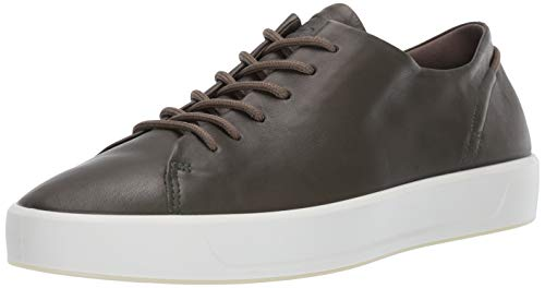 ECCO Men's 8 Tie Sneaker, deep Forest Soft, 44 M EU (10-10.5 US)