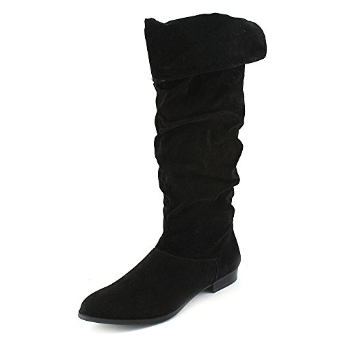 Style & Co. Women's Tiriza Over-the-Knee Scrunch Boot, Black, Size 6.0