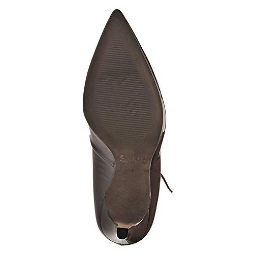 Zapatos Piel Vestir Mujer Marrón De Shoes Para Oscuro Evita 4Oq5zq