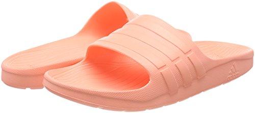 Coral Sandales chalk Unisexes Ouvert Adidas Slide Bout Rouge Duramo HRfw8WqAT