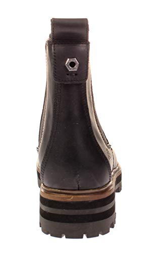 Black Boots Jet Chelse Timberland Square Nero London qfTwqXxI