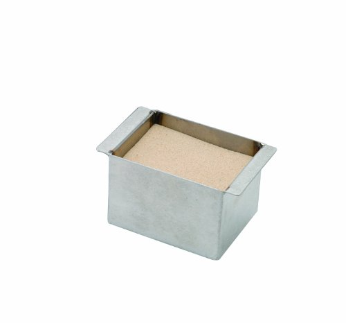 Thomas 949379 Stainless Steel Sand Bath, 5-51/64'' Length x 7.5'' Width x 2.5'' Height, For 4 Block Dry Block Heater