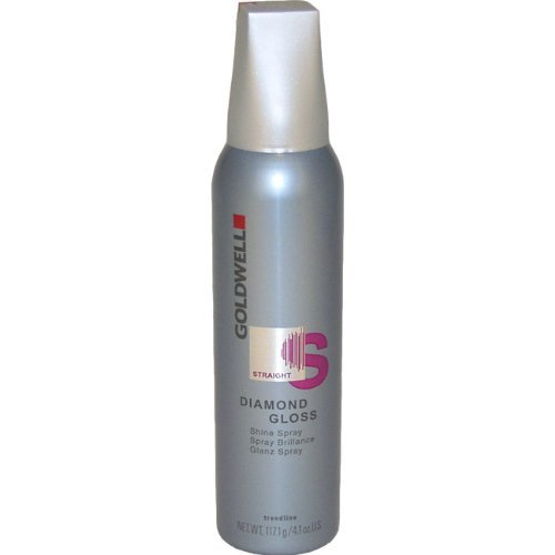 - Straight Diamond Gloss Shine Spray By Goldwell for Unisex Hair Spray, 4.1 Ounce by Goldwell