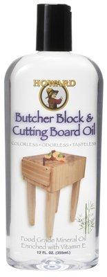 Howard BBB012 12 Oz Cutting Board Oil 6 - 12oz Bottles