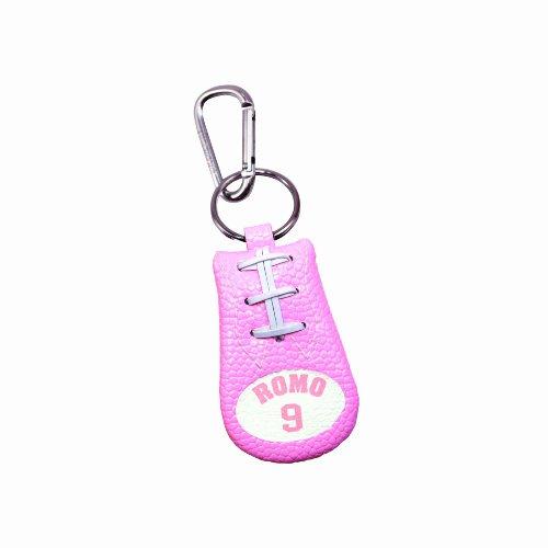 Tony Romo Pink NFL Jersey Football Keychain ()