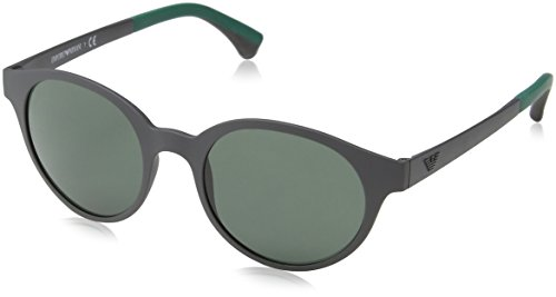 Emporio Armani Men's EA4045 - Face Heart For Sunglasses Shaped Men