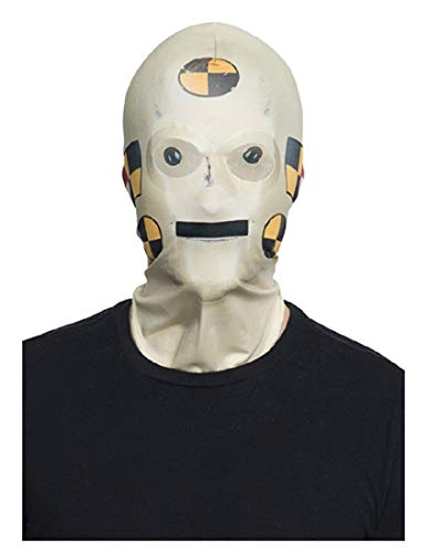 Franco American Novelty Company Adult Crash Test Dummy Mask -
