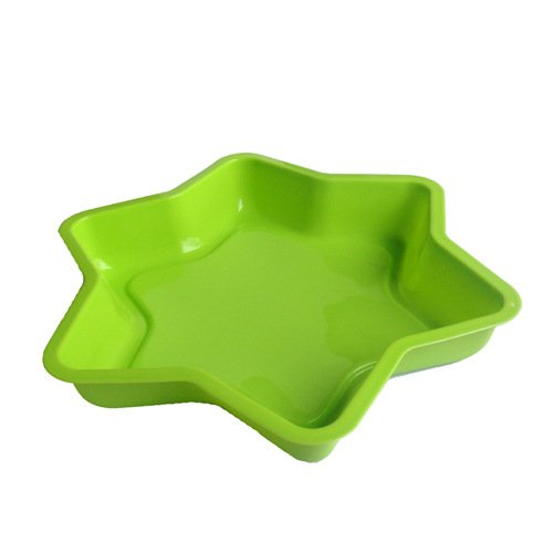 Silicone Hexagon Mould Apply Microwave