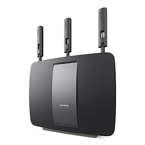 Flash Linksys Router (Linksys AC3200 Tri-Band Smart WiFi Router with Gigabit and USB, Designed for Device-Heavy Homes, Smart Wi-Fi App Enabled to Control Your Network from Anywhere (EA9200-RM2) (Renewed))