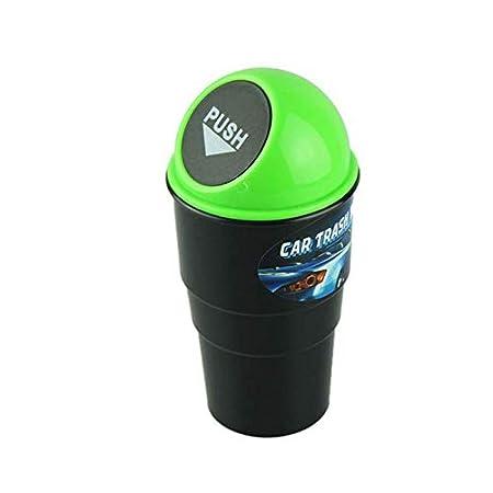 Delleu Automotive Cup Holder M/ülleimer M/ülleimer Kleine Mini Auto M/ülleimer M/ülleimer f/ür Auto Office Home