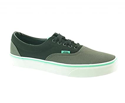 8fe43ab99d85 Vans Era (2Tone) Charcoal Black Biscay Green Mens Footwear Trainers   Amazon.co.uk  Clothing