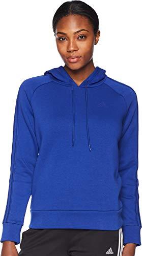 adidas Athletics Essentials Cotton Fleece 3 Stripes Pullover Hoodie, Mystery ()