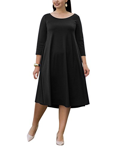black maternity day dress - 7