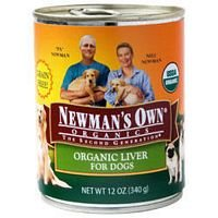 Newman's Own Organics Organic Beef Canned Dog Food 12 oz. ( Value Bulk Multi-pack) by Newman's Own