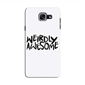 Cover It Up - Weirdly Awesome Galaxy J7 Prime Hard Case