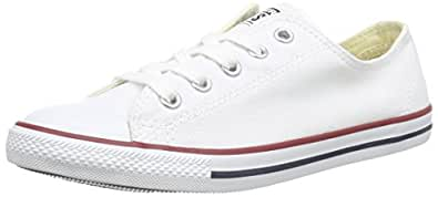 Converse Womens Chuck Taylor All Star Dainty Ox Sneaker White Size 5