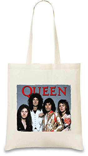 Queen For Custom Unique Naturel Merchandise By Use Bag friendly Color Shoulder Official Soft Tote Printed Cotton Natural Day Bags Eco Handbag Re Band usable Stylish 100 amp; Every wt5pqqZfRn