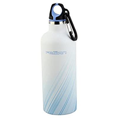 Dealmux Feijian agréé en acier inoxydable Sports de plein air double paroi isotherme chaleur Conservant Flasque Bouteille d'eau 481,9gram 500ml