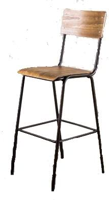 Peppermill Interiors VINTAGE STYLE STACKING STOOL THE