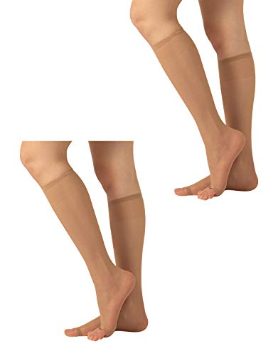 Pairs Knee High Socks Toeless Over product image