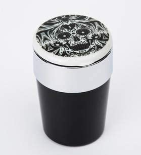 ポータブルで掃除が簡単 多機能車の灰皿 車、オフィス、家、バー、宴会、その他の機会に適しています (Color : A, Size : 90mm)