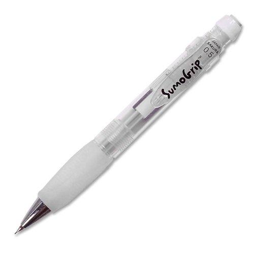 Wholesale CASE of 25 - Sakura SumoGrip .5mm Mechanical Pencils-Mechanical Pencil,.5mm,Lead/Eraser Refill.,Clear by The Sak