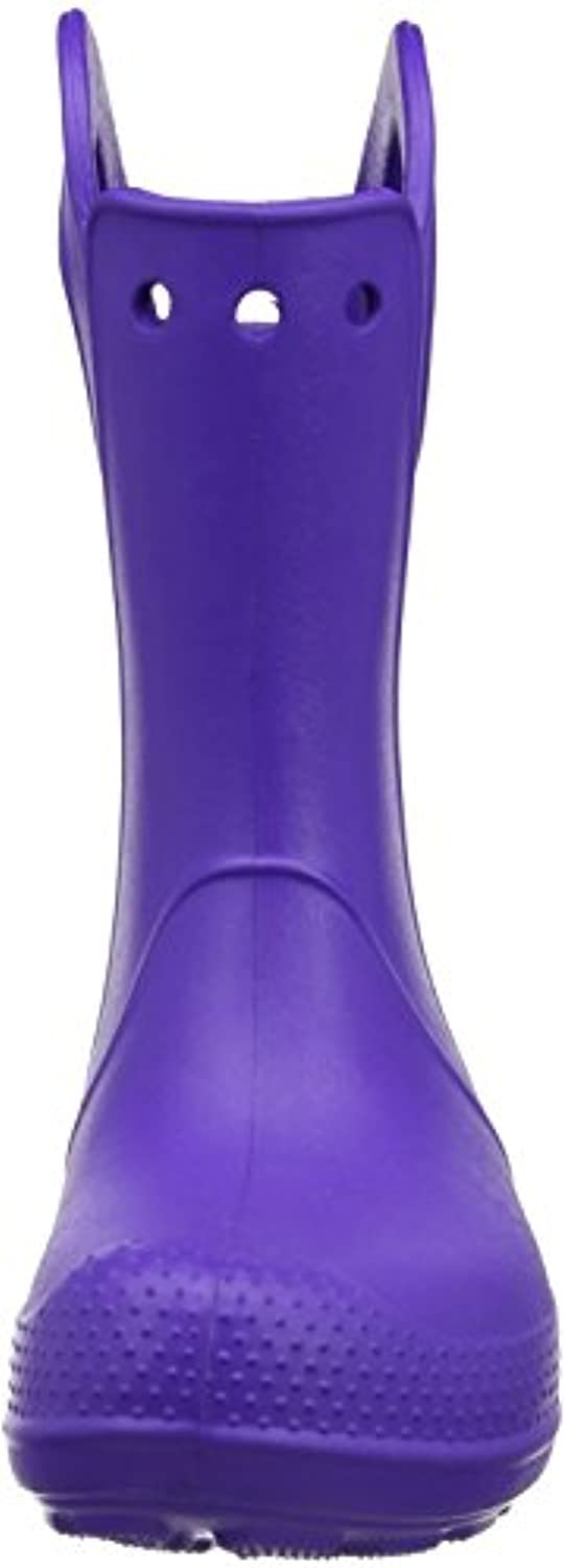 Crocs Handle It Unisex Kids Rain Boots - Purple (Ultraviolet), 3 UK