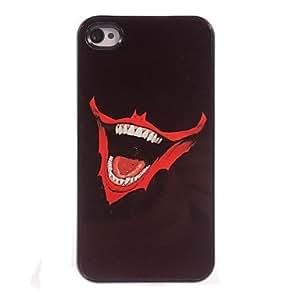 JJE Big Mouth Design Aluminum Hard Case for iPhone 4/4S